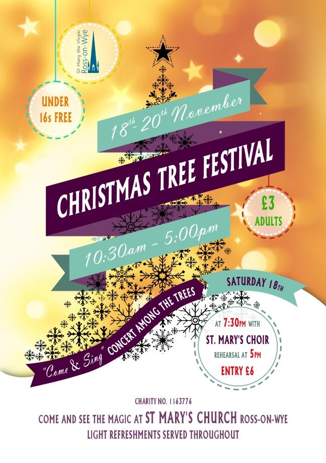 Christmas Tree Festival A5 Flyer 2017 300dpi