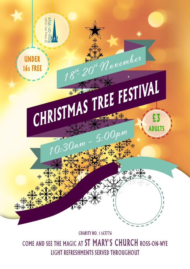 Christmas Tree Festival A5 Flyer 2017 300dpi