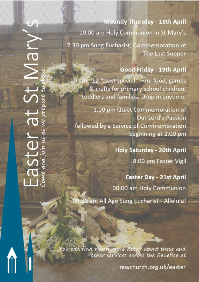 Easter at St Marys 2019